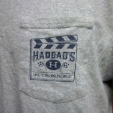 HADDAD'S Film Industry Equipment Rental lrg T shirt Cincinnati pocket tee 2017