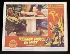 ROBINSON CRUSOE ON MARS Horror SCI FI 1964 Lobby Card 3