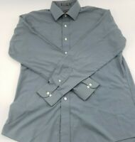 Mens David Taylor Button Up Long Sleeve Size 16 (34/35)