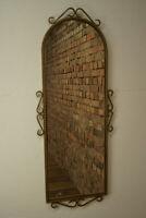 50er Nierenspiegel Wandspiegel Vintage Spiegel Mid-Century Garderobenspiegel 18