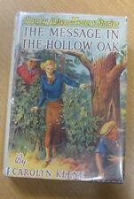 The Message in the Hollow Oak Nancy Drew Carolyn Keene in jacket