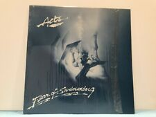 """ACTS """"FEAR OF SWIMMING"""" LP Private 1984 NY Release DECK-IT 92784 In Shrink RARE"""
