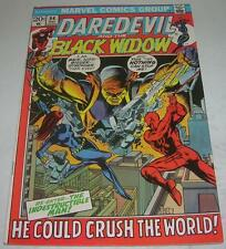 Daredevil #94 (Marvel Comics 1972) Black Widow app (Fn+) Death of Danny French