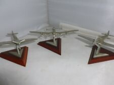More details for royal hampshire pewter aeroplanes lancaster,spitfire and hurricane