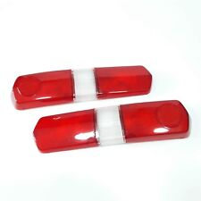 DATSUN BLUEBIRD 410 411 Tail Light Rear  Lamp Cover Lens(LH+RH)Genuine Parts NOS