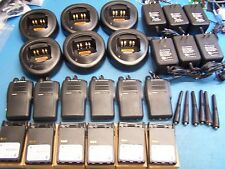 6 Motorola EX500 UHF 403-470MHz 16 Channel  Excellent Condition Tested