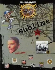 Sublime 2005 Gold promotional 12 sticker sheet set ORIGINAL MINT LONG BEACH LBDA