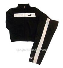Toddler boys Puma outfit Tracksuit, Jacket & pants, sz 18 mos, blk/wht, NWT