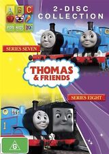 Thomas & Friends: Series 7-8 (DVD, 2-Disc Set)  Region 4 - New and Sealed