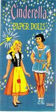 Vintage Uncut 1950's Cinderella Paper Dolls Reproduction~2 Sets~Extremely Rare!