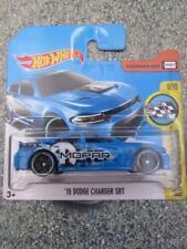 Hot Wheels 2017 # 009/365 2015 DODGE CHARGER SRT Azul HW velocidad Imágenes