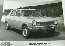 #pha.024072 Photo SIMCA 1100 1974-1979 Car Auto