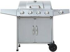 "Gasgrill ""DAYTON""  von El Fuego® 4 + 1 Brenner Grill Smoker BBQ Barbecue"