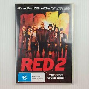 Red 2 DVD - R4 - Bruce Willis, John Malkovich, Anthony Hopkins - TRACKED POST