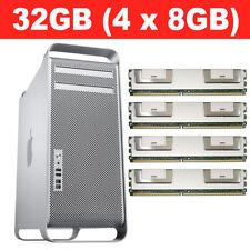 32GB 4X8GB MEMORY RAM MAC PRO 3,1 A1186 PC2-5300F 667MHz FB-DIMM ECC 2008 3.1