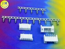 Kit 2x femelle + connecteur 6 broches + crimpkontakte Connector 2mm pcb abgewink #a1583