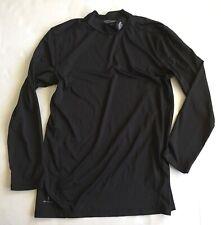 "New Balance Boys Youth L 14-16y Black Shirt Long Sleeve ""Lightning Dry"" Fabric"