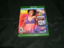 Zumba Fitness World Party Microsoft Xbox One Brand New Factory Sealed