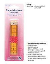"Hemline Tape Measure Extra Long 300cm - 120"" Quilts Dressmaking Home DIY"