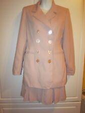 Victoria's Secret Hugo Buscati Collection Pink 2 Piece Wool Skirt Suit 4P