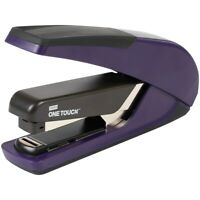 Staples One-Touch Plus Desktop Stapler Full-Strip Capacity Purple (25113) 207436