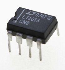 Linear Technology LT1013-CN8, DUAL OP AMP, DIL8. vendedor del Reino Unido. envío rápido.