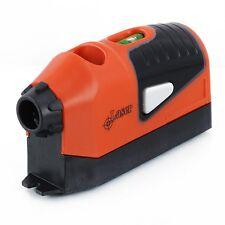 New Portable Mini Measuring Laser Spirit Levels Vertical Edge Guide Measure Tool