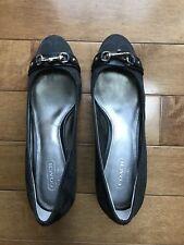 Coach Signature Wedge shoes - Size 8