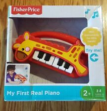 Fisher Price My First Real Piano Toy - Musical Giraffe - New
