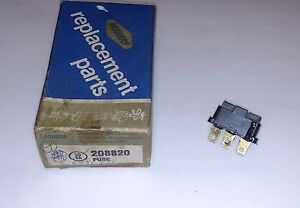 Murry Thermal Limiter Switch Fuse NOS Part # 208820
