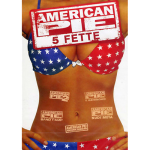 American Pie Collection 5 Fette (5 Dvd)  [Dvd Nuovo]