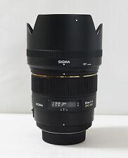 Sigma EX 85mm f/1.4 HSM EX DG Lens For Nikon + UV filter