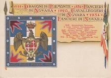 A9333) VERONA, CAVALLERIA, REGGIMENTO LANCIERI DI NOVARA. FORMATO GRANDE.
