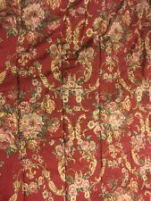 Vtg Ralph Lauren Home Danielle Marseilles Red Floral Full/Queen Comforter NICE