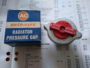 RADIATOR PRESSURE CAP - PEUGEOT 203 403 404 & FIAT 1300 1500 1800 2300 & SPIDER