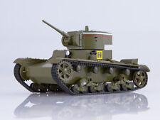 1:43 T-26 light tank 1933 WWII MODIMIO Collections + magazine #5 NT005
