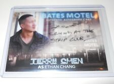 Bates Motel Autograph Trading Card Terry Chen as Ethan Chang #ATC (Black) V1