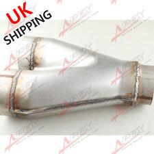 "Universal Custom Exhaust Y-Pipe 3"" Dual 3"" Single Aluminized Steel UK"