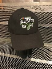 KYLE BUSCH #18 Team Issued Worn RARE ALL-STAR Charlotte Win 2017 NASCAR Hat Cap