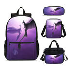 How to Train Your Dragon Girls School Backpack Insulated Lunch Bag Pen Case Lot