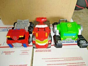Transformers Playskool Rescue Bots Huge Lot of 14.