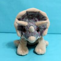"Wild Republic TRICERATOPS Dinosaur Plush Stuffed Animal Toy 7"" 2011"