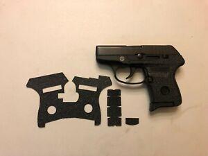 HANDLEITGRIPS Laser Cut Tactical Textured Rubber Gun Grip for Ruger LCP 380