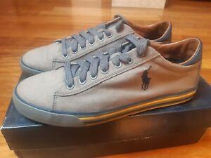 Scarpe Sneakers da Uomo Polo Ralph Lauren Colore Grigio Originali Taglia 43