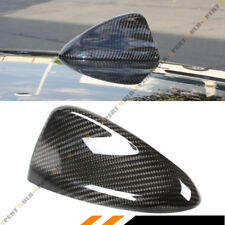 FOR 2017 ALFA ROMEO GIULIA QUADRIFOGLIO CARBON FIBER SHARK FIN ANTENNA COVER CAP