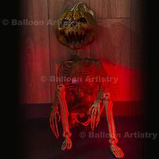 "36"" Halloween Horror Party Crazy Bones Hanging Pumpkin Patch Skeleton Decoration"