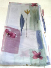 JUBILEE Curtain Panels and Scarf Perry Polyester