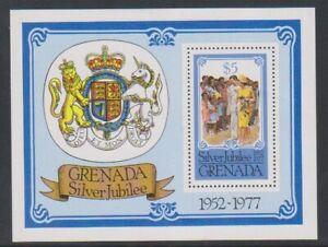 Grenada - 1977, Silver Jubilee sheet - MNH - SG MS862