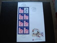 FRANCE - enveloppe 1er jour 16/3/1996 (journee du timbre) french (A)
