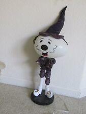 Nuevo 50.8cm Iluminado Ghost Bruja Halloween Puerta Porche Greeter Spooky Hollow